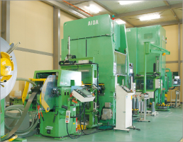 Clutch plate production line